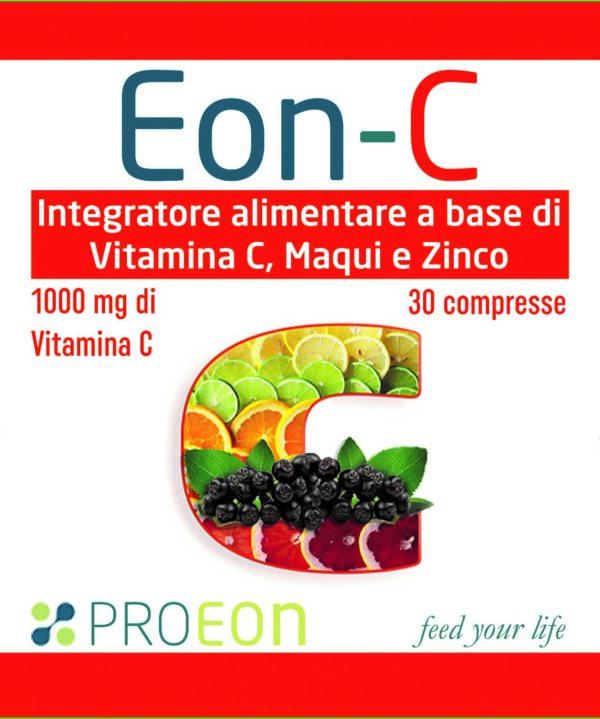 Integratore alimentare di Vitamina C, Maqui e Zinco